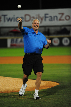 Keith-Brown-Throws-First-Pitch-at-Greer-Stadium-2014-Nashville-Sounds