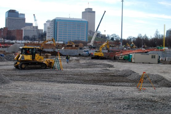 First-Tennessee-Park-Construction-Pitchers-Mound-and-Home-Plate-Nashville-Sounds-2015